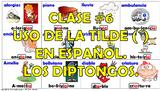 Clase #6. La Acentuación en español. Los diptongos