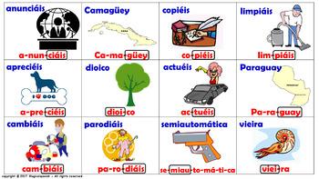 """""""Reglas de acentuación en español (7)"""" / Los Triptongos."""