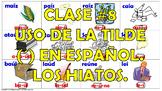 Clase #8. La Acentuación en español. Los Hiatos