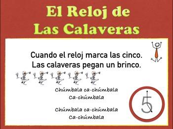 Reloj de las Calaveras MP3 of Song & Pronunciation. Day of Dead in Spanish