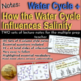 [Remote Friendly] Notes Water Cycle + Notes: How Water Cyc