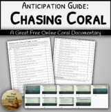 [Remote friendly] Video Anticipation Guide: Chasing Coral