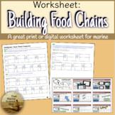 [Remote friendly] WebQuest: Building Ocean Food Chains w/Trophic Level Vocab
