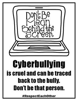 #RespectEachOther Packet to Combat Bullying