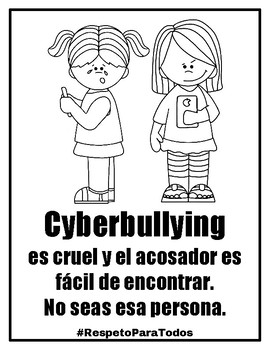 #RespetoParaTodos Packet to Combat Bullying
