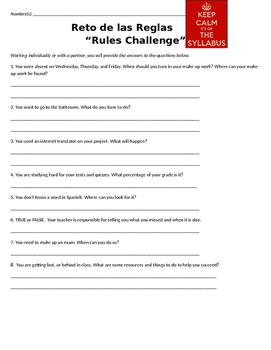 """""""Reto de Reglas"""" / Syllabus Rules Challenge"""