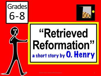 Retrieved Reformation by O. Henry    Lesson PLUS