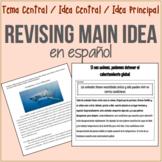 ¡Revisar Idea Central en español! Revising Practice for Sp