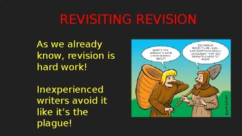 """Revisiting Revision"" Writing Lesson (PowerPoint)"