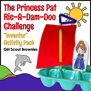 "...Ric-A-Dam-Doo Challenge - Girl Scout Brownies - ""Inventor"" Pk - All 5 Steps!"