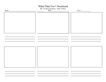 """""""Rikki-Tikki-Tavi"""" Plot Storyboard"""