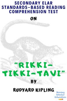 """Rikki-tikki-tavi"" by Rudyard Kipling Multiple-Choice Reading Comprehension Test"