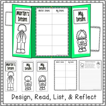 Martin Luther King Jr: I have a Dream Reflection Lapbook