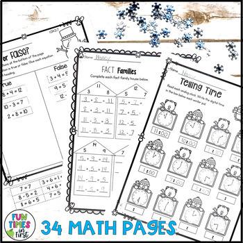 January Print and Go (1st Grade ELA & Math)