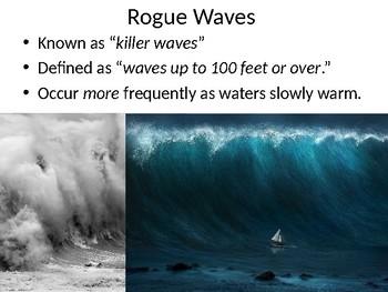 """Rogue Wave"" Power Point Presentation"