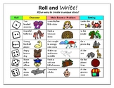 'Roll and Write' Fun Writing Activity, pick your own adven