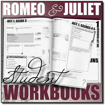 romeo and juliet by shakespeare student workbooks by stacey lloyd