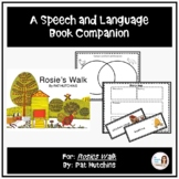 """""""Rosie's Walk"""" A Speech Therapy Book Companion (for teaching basic concepts)"""