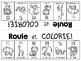 {Roule et Colorie: Au zoo!} A French vocabulary game