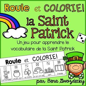 {Roule et Colorie: La Saint Patrick!} A French vocabulary game