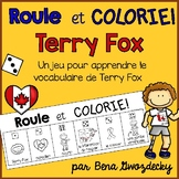{Roule et Colorie: Terry Fox} A game to practice French vocabulary