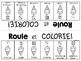 {Roule et Colorie: la crème glacée!} A French vocabulary game