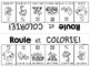 {Roule et Colorie: le printemps!} A French vocabulary game