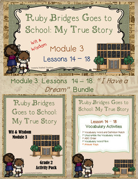 """""""Ruby Bridges Goes to School..."""" PowerPoint Slides and Activity Packet Bundle"""