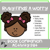 """""""Ruby Finds A Worry"""": book companion set for coping with worries"""