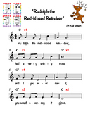 """Rudolph the Red-Nosed Reindeer"" for Ukulele"