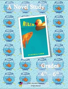 """Novel Study - """"Rules"""""""