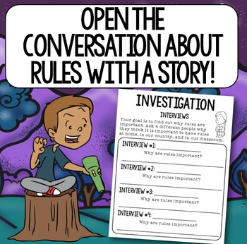 """""""Rules of the House"""" Back to School Book Study: Classroom Rules"""
