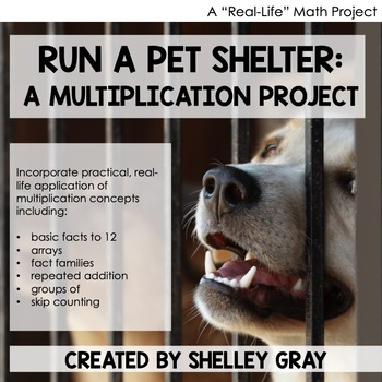 """""""Run a Pet Shelter"""" Multiplication Project 