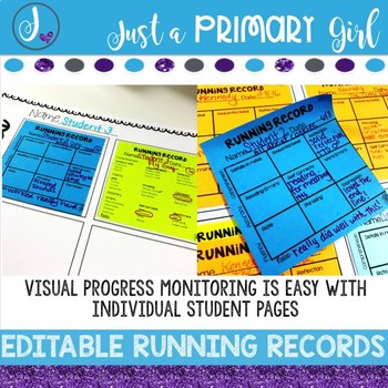 ~*Running Records (plus sticky note version!)