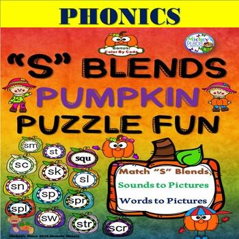 """""""S"""" Blend Pumpkin Puzzle Fun"""