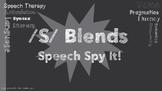 /S/ Blends Speech Spy It!