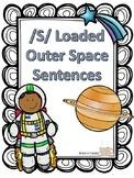 /s/ Articulation Sentences-- Tier 3 Outer Space Vocabulary!