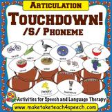 /S/ Phoneme - Touchdown!