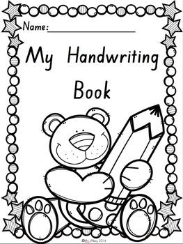 {SA Font} Handwriting Book
