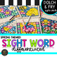 Kindergarten-5th Differentiated Sight Word Activities Color by Code for Spring
