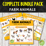 Montessori Farm Animals Complete BUNDLE Pack