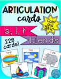 Articulation Cards for s, l, r blends