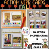{SALE} ACTION VERB CARDS (REAL PICTURES) - FALL, EXPANDING