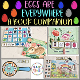 EGGS ARE EVERYWHERE, BOOK COMPANION (AAC, PECS, EASTER, SPEECH THERAPY)