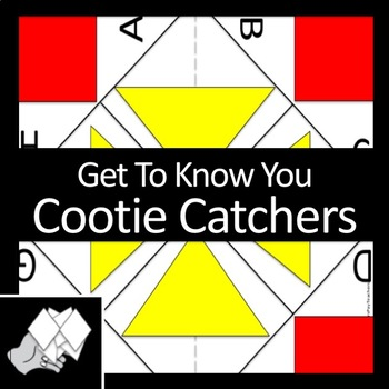 'Get To Know You'  Cootie Catchers