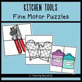KITCHEN TOOLS Fine Motor Puzzles
