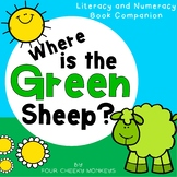 Where is the Green Sheep Mem Fox    Book Companion Activities