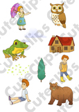 *SAMPLE* Cute Clips Bundle: Kids, Characters, Animals, Wea