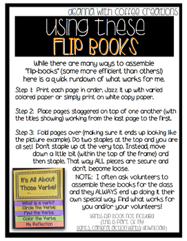 {SAMPLE FREEBIE} How to Cook a Turkey {Flip-Book}