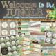 Jungle Classroom Theme Decor Bundle - Editable
